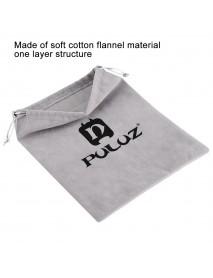 PULUZ Soft Flannel Pouch Bag for Gopro SJCAM Xiaomi Yi Action Camera