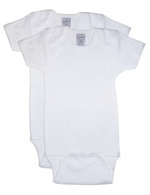 Bambini 2 Pack One Piece White Variety Pack