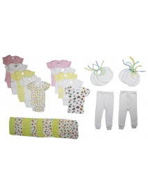 Bambini Girls' 26 Piece Layette Set