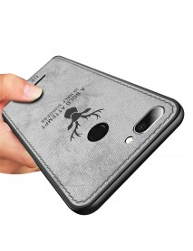 Bakeey Deer Pattern Shockproof Cloth Soft TPU Back Cover Protective Case for Xiaomi Redmi 6