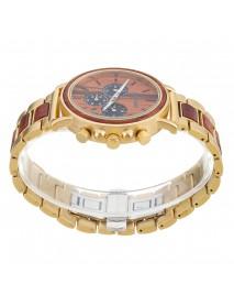 BOBO BIRD Luxury Wooden Wristwatches Date Display Fashion Men Quartz Watch