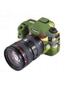 PULUZ PU7101 Soft Silicone Protective Case for Canon EOS 6D DSLR Camera