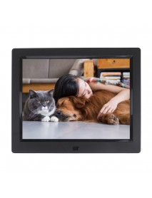 8inch TFT LCD Digital Photo Frame Electronic Picture Album MP3 Video Player Clock