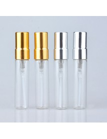 5ml Empty Glass Perfume Bottles Refillable Aluminum Atomizer Portable Container