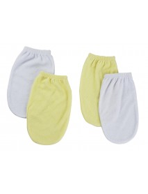 Washcloth Mitt - 4 Pc Set