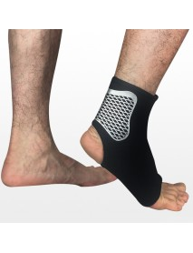 1 Piece Mens Sports Ankle Support for Outdoor Basketball Football Neoprene Breathable Ankle Brace Socks