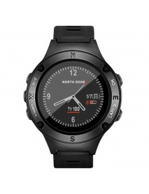 NORTH EDGE Fourier2 Outdoor Smart Watch HR Monitor Bluetooth Compass Altimeter Thermometer GPS Watch