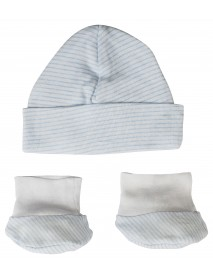 Baby Cap and Bootie Set