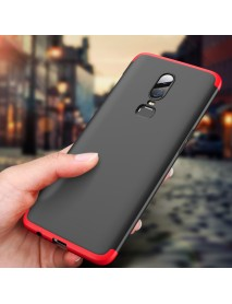 Bakeey 3 in 1 Double Dip 360 Full Protection PC Protective Case For OnePlus 6
