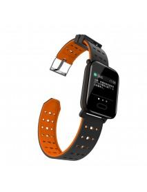 Bakeey A6 Sleep HR Blood Pressure Oxygen Monitor Camera Control Smart Watch
