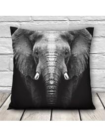 3D Animal Patterns Throw Pillow Case Sofa Office Car Cushion Cover Home Decor