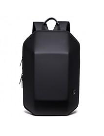 Men Black Hard Shell Backpack Anti Theft Laptop Backpack Large Capacity Multifunction Computer Bag
