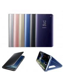 Bakeey Smart Sleep Mirror Window View Bracket Protective Case For Samsung Galaxy S6/S6 Edge/S6 Edge Plus
