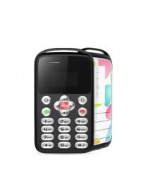 AEKU M9 0.96 inch 360mAh Vibration Bluetooth One Key SOS Low Radiation Ultra Thin Mini Card Phone