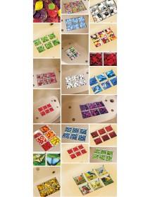 PAG 6pcs 13x13cm Butterfly Pattern 3D Anti Slip Waterproof Bathtub Sticker