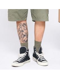 5 Pair Men Cotton Fitness Tube Socks Comfortable Deodorization Athletic Sock