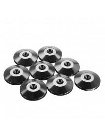 8Pcs HiFi Speaker Spike Desk Stainless Feet Base Pad Floor Disc Durable
