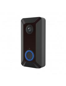 Bakeey V6 720P 166 Smart Wireless WIFI Video Doorbell Camera Cloud Storage Chime Visual Intercom Night Vision