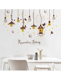 Creative Chandelier Self - Adhesive Wallpaper Stickers Living Room Bedroom