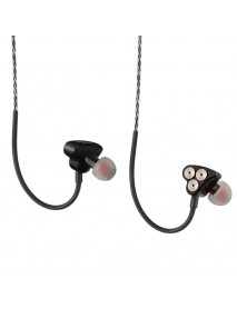 3.5mm Jack Six Dynamic Units Earphone In-ear HIFI Bass Noise Cancelling Sports Earbuds Headset