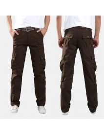 Men Overalls Outdoor Loose Sports Casual Pants