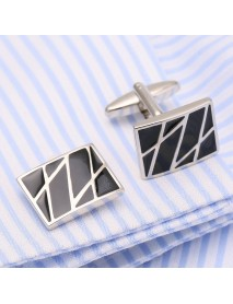 Mens Elegant French Shirt Cufflinks Business Copper Dress Solid Cuffs Suit Cuff Button