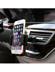 2 in 1 Phone Stand Car Air Vent Mount CD Slot Holder for under 6 inches Smartphone