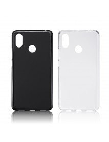 Bakeey Matte Shockproof Soft TPU Back Cover Protective Case for Xiaomi Mi Max 3