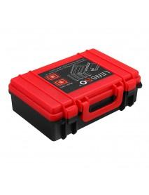 LENSGO D810 Storage Case Holder Box for AA Battery DSLR Camera Battery SD TF XDQ CF Memory Card