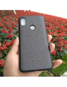 Bakeey Fabric PC+PU Leather Back + Soft TPU Bumper Protective Case for Xiaomi Mi A2 / Xiaomi Mi 6X