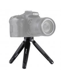 PULUZ PU3014 Pocket Mini Metal Desktop Tripod Mount with Adapter Screw for DSLR Camera 4.5-15 cm
