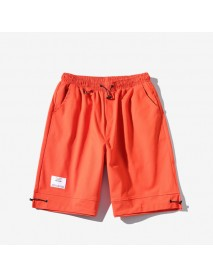 E-commerce Specializes In Season New Men's Solid Color Casual Shorts