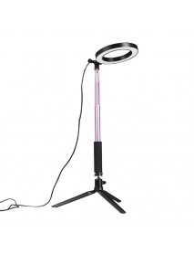 Yingnuo Dimmable 3500-5500k Selfie Studio Live Video Ring Light With Phone Holder
