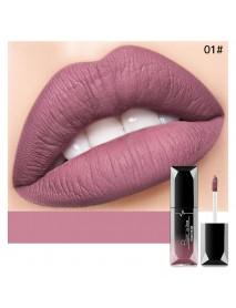 21 Colors Threaded Tube Lip Gloss Matte Liquid Lipstick Makeup Long-Lasting
