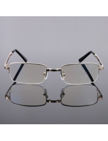 Anti-blue Light Foldable Old Light Mirror Aspherical Resin Anti-blue Film Reading Glasses