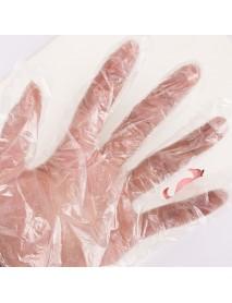 100Pcs/Bag Disposable Gloves PE Garden BBQ Restaurant Plastic Glove Kitchen Protective Tools