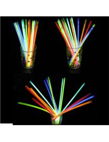 100pcs Wholesale LED Flashing Light Novelty Toys Glow Stick for Festivities Decoration