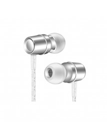 AUGIENB 3.5mm Wired Control Earphone Bass Stereo Earbuds Headphone with Mic for iPhone Xiaomi Huawei