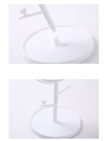 Cartoon Cat Ears Desktop High List Cosmetic Mirror Desktop Storage Vanity Mirrors