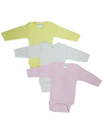 Bambini Boys' Pastel Long Sleeve Onezie