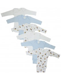 Bambini Boys Longsleeve Printed Onezie Variety 6 Pack