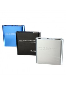 1080P Mini HDD Media Player MKV/H.264/RMVB Full HD With Card Reader