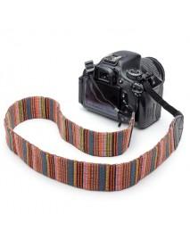 Color Neck Shoulder Strap For DSLR Nikon Canon And Other Camera