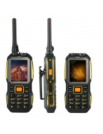 MAFAM M2 2.4 Inch 4000mAh UHF Walkie Talkie Handheld SOS Dual SIM Card FM Power Bank Mobile Phone