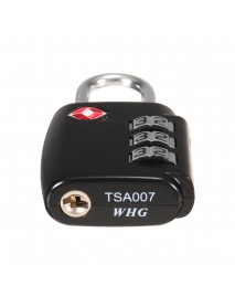 KCASA LK-30 3 Digit TSA Combination Lock Travel Security Approved Luggage Padlock Luggage Lock