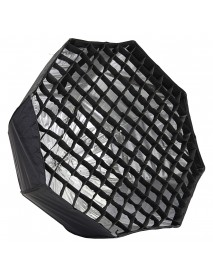 80CM 31.5 inch Octagonal Flash Honeycomb Grid Umbrella Softbox Photography Studio Equipment