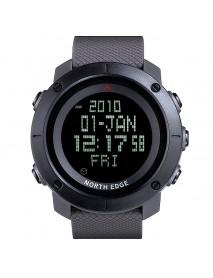 NORTH EDGE TANK Digital Watch Military 50M Waterproof Swimming Stopwatch Male Sport Outdoor Watch