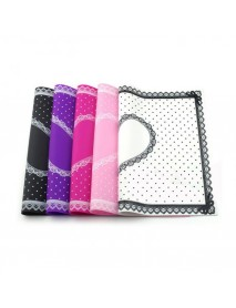 1 Set Nail Art Silicone Practice Cushion Mat Pillow Hand Holder Cushion Lace Table Washable Mat Pad Manicure Tools Kit