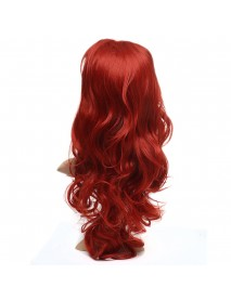 24inch Synthetic Former Lace Wig Long Wavy Hair Full Wigs Cosplay With Classic Cap