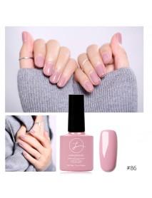 11 Colors Princess Pink Nail Gel Polish Soak-off UV Gel Colorful Varnish DIY Nail Art Long-Lasting